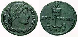 Constantinian Triumph Coin