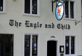 The Eagle and Child Pub in Oxford.