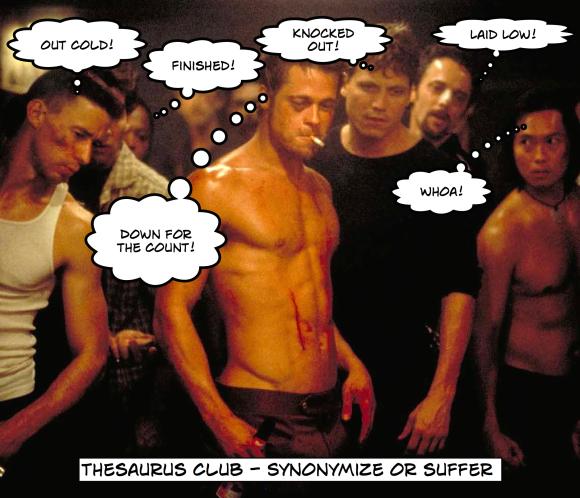 thesaurus club
