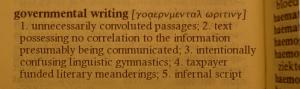 govwriting