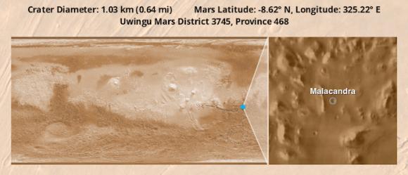 Malacandra Crater