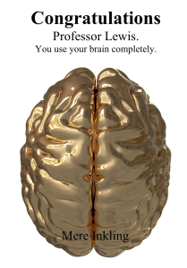 Lewis Brain