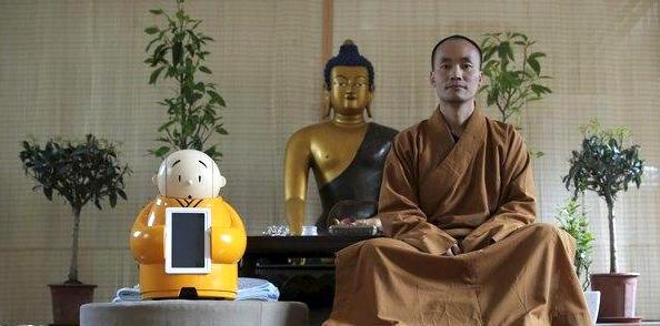 robot monk