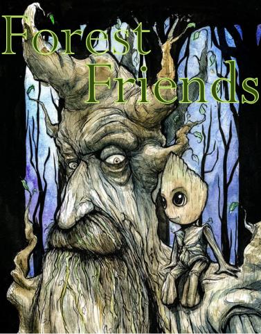 treebeard & groot